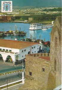 Postal 51395: MELILLA - Vista parcial del puerto