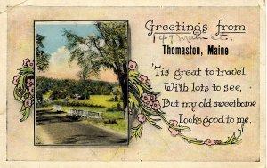 ME - Greetings from Thomaston, Maine