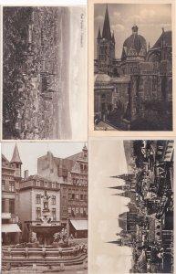 Bad Aachen Dom Kaiser 8x Religious German Old Postcard Bundle