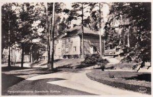 Spenshults Sjukhus Personalbostaderna Swedish RPC Postcard