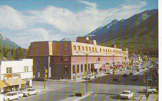 Canada New Mount Royal Hotel Banff Alberta