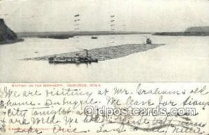 Dubuque Steamer, Steam Boat, Steamboat, Ship, Ships, Postcard Post Cards  Dub...