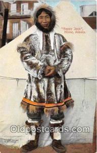 Nome, Alaska, USA Postcard Post Card Happy jack