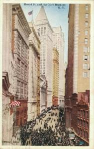 USA Broad St and the Curb Brokers New York 01.85