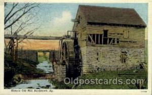 Historic Old Mill Bardstown, KY, USA Postcard Post Cards Old Vintage Antique ...