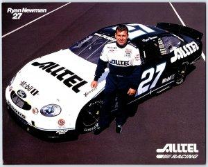 Ryan Newman # 27 Nascar Alltel Racing Photo Print Card N1