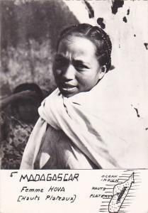 RP: Madagascar , Femme Hova [Hauts Plateaux] , 1940s