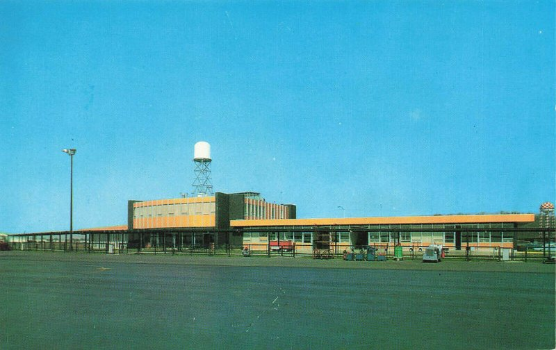 Fort Smith AR New Airport Terminal Building Postcard