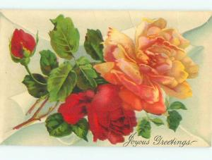 Divided-Back BEAUTIFUL FLOWERS SCENE Great Postcard AA3080
