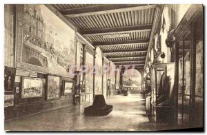 Old Postcard Paris Hotel des Invalides Museum of L Armee Room Bugeaud