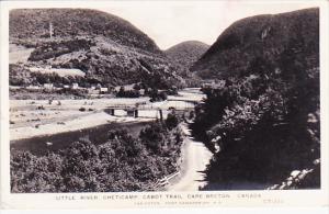 RP: Little River , Cheticamp , Cabot Trail , Nova Scotia Canada , PU-1941