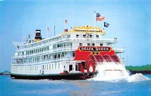 Delta Queen Ferry Boats Ship Unused