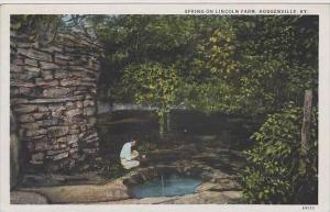 Kentucky Hodgenville Spring On Lincoln Farm