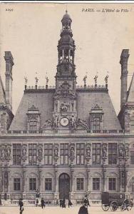 L'Hotel De Ville, Paris, France, 1900-1910s