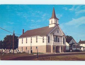Unused Pre-1980 CHURCH Smith Island - Near Ewell & Crisfield Maryland MD G3333