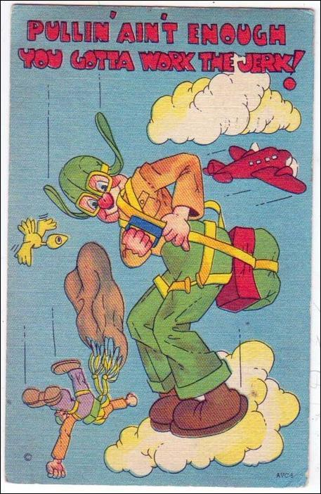 Parachuting Humor