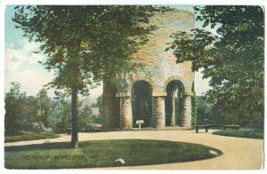 USA, The Tower, Worcester, Mass, early 1900s unused Postcard