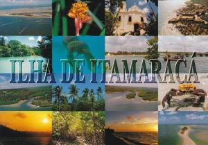 Brasil Ilha de Itamaraca Aspectos da Cidade