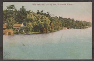 The Willows Looking East Brockville, Ontario 1905 Used