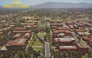 Arizona Tucsons The University Of Arizonas 120 Acre Compus
