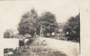 RP: MATTAPOISETT , Massachusetts , 1917 ; Maple Avenue