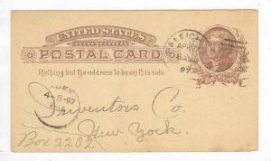 North Carolina Branch, RALEIGH, Inter States Life Association, PU 1897