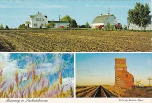 Canada Saskatchewan Typical Grain Farm