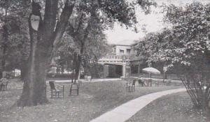 Indiana Martinsville Home Lawn Mineral Spring 1949