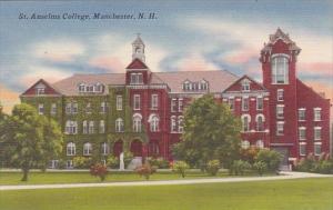 New Hampshire Manchester Saint Anselms College