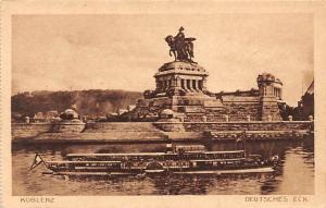 Koblenz am Rhein Deutsches Eck Denkmal Monument