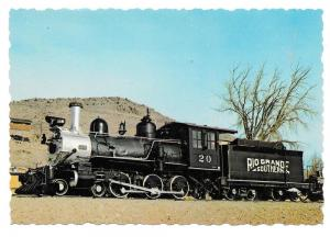 Rio Grande Southern Steam Locomotive Train Colorado RR