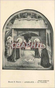 Postcard Old Museum S Marco Angelico Cliche Anderson The Nativity