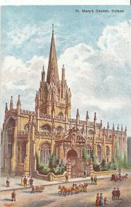 Oxfordshire Postcard - St Mary's Church, Oxford   A5695