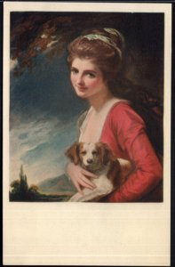 Lady Hamilton as NATURE George Romney The Frick Collection NY - Und/B Vintage