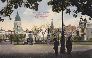 BUENOS AIRES, Argentina, 1900-1910´s; Plaza Del Congreso