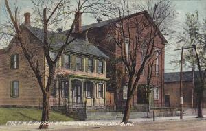 First M E Church and Parsonage Phillipsburg New Jersey