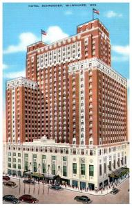 Wisconsin  Milwaukee  , Hotel Schroeder