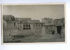 193116 IRAN Persia SAGHIZ village from river Vintage postcard