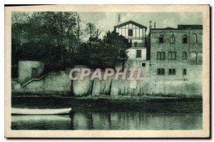 Old Postcard Hendaye Cote Basque La Maison Pierre Loti