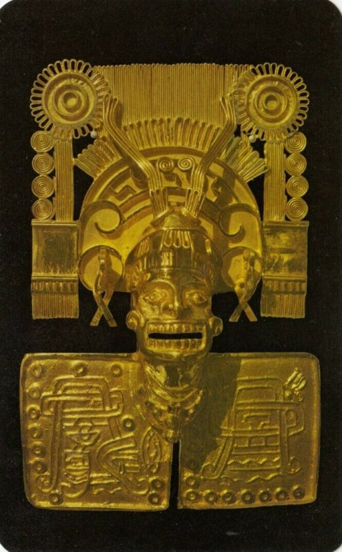 OAXACA, Mexico, 40-60s; Reproduction of God of Death , Jewels of Monte Alban