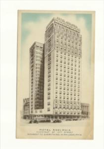 Pennsylvania  Philadelphia   Hotel Adelphia