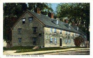 Old Fort Weston in Augusta, Maine
