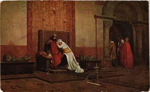 CPA AK J.P. LAURENS L'excommunication de Robert Pieux M. de Luxembourg (286733)