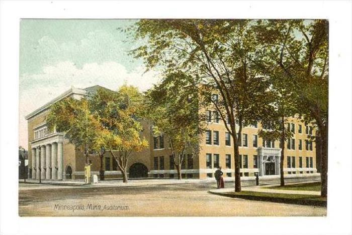 Auditorium, Minneapolis, Minnesota, 1900-1910s