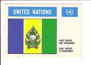 Saint Vincent United Nations Flag