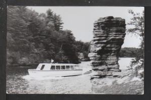 Tour Boat,Wisconsin Dells,WI Postcard