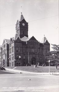 Real Photo Cass County Court House Plattsmouth Nebraka