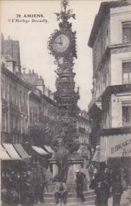 L'Horloge Dewailly, AMIENS (Somme), France, 1900-1910s