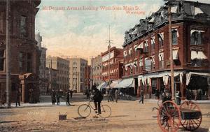 Canada Winnipeg, McDermott Avenue, Street, bicycle, cart, Souvenir