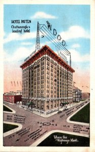 Tennessee Chattanooga Hotel Patten 1939